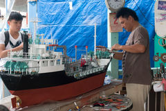 Ship Model Royalty Free Stock Photos