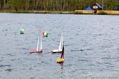 Ship modeling sport Royalty Free Stock Image