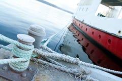 Free Ship Moored At A Quay Royalty Free Stock Photos - 8064698