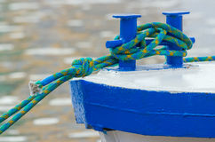 Ship mooring Royalty Free Stock Images