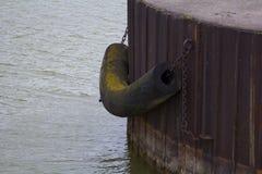 Ship Mooring Stock Photo