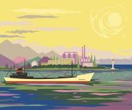 Ship 1 2 Royalty Free Stock Image