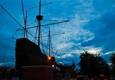 Ship mueum. Ship museum - the Muzium Samudera, Malacca, Malaysia Stock Image