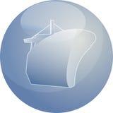 Ship naval transport Stock Image