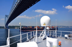 Ship navigation equipment Royalty Free Stock Photo