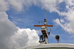 Ship Navigation System Stock Photography