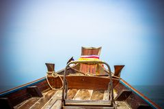 Ship Nose Front View Island in Thailand Royalty Free Stock Image