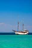 Ship in the ocean Royalty Free Stock Image