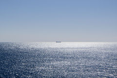 Ship on Ocean Stock Image
