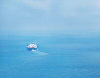 Ship in the ocean Stock Photography