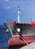 Ship On A Berth Royalty Free Stock Images