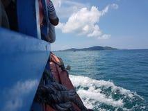 Ship på havet Royaltyfria Foton