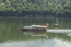 Ship på laken royaltyfri fotografi