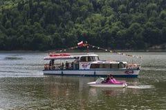 Ship på laken royaltyfri foto