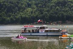 Ship på laken royaltyfria foton
