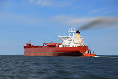 Ship panning Royalty Free Stock Photography