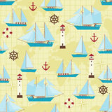 Ship pattern Stock Photography