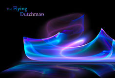Ship-phantom 'Flying Dutch' Royalty Free Stock Photography