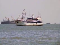 Ship. Photo of Ship Place - Arabian Sea Near Mumbai,India stock image