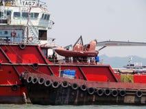 Ship. Photo of Ship Place - Arabian Sea Near Mumbai,India stock photo