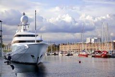 Ship on a pier Royalty Free Stock Photos