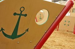 Ship Playground Equipment royalty free stock image