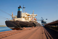 Ship in port Royalty Free Stock Photos