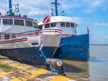 Ship in Port stock image