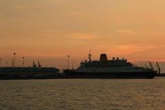 Ship. Port marrine sea thailand royalty free stock image