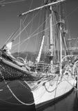 Ship in port, Montenegro Royalty Free Stock Photos
