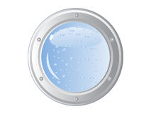 Ship porthole Royalty Free Stock Photos