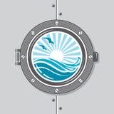 Ship Porthole Image Stock Photography