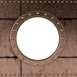 Ship porthole Royalty Free Stock Images