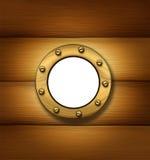 Ship Porthole Window Royalty Free Stock Photo