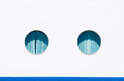 Ship porthole windows Royalty Free Stock Photo