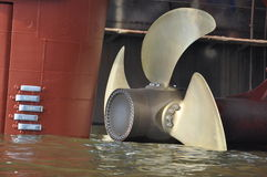 Ship propeller Royalty Free Stock Photos
