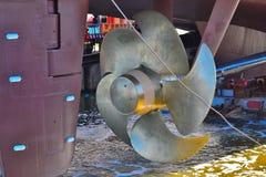 Ship propeller Royalty Free Stock Image