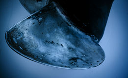 Ship propeller in water Royalty Free Stock Image