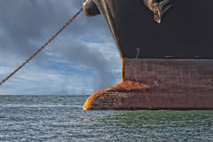 Ship prow Stock Image