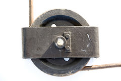 Ship pulley. For generic works Royalty Free Stock Image