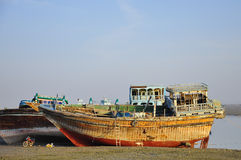 SHIP ON QESHM ISLAND IRAN Stock Photo