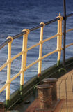 Ship railing Royalty Free Stock Images