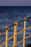 Ship railing Stock Photo