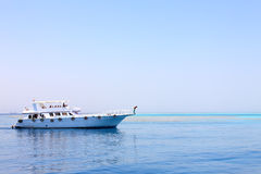 Ship in the Red sea Stock Images