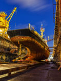 Ship repair Royalty Free Stock Photography