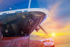 Ship repair Stock Photography