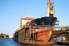 Ship repair Stock Image