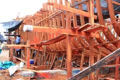 Ship repair Stock Photo