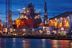 Ship repair Royalty Free Stock Photo