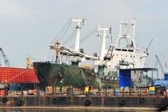 Ship In Repair Yard Royalty Free Stock Photo